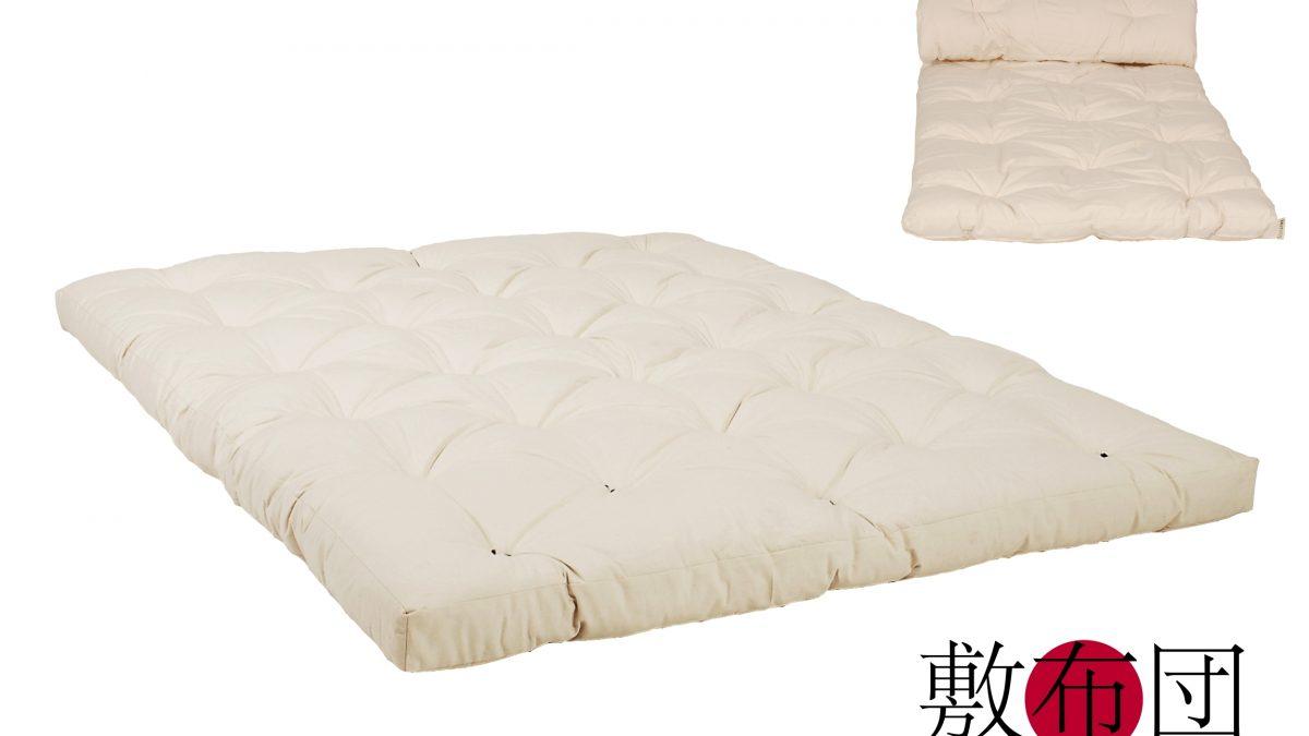 Original Japan Futon Aus Reiner Baumwolle Ohne Chemie Oder Tierische Substanzen Erholsame Und Naturliche Schlafstatt Auch Fur Veganer Und Allergiker